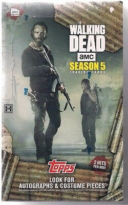 The Walking Dead Season 5 Hobby Box Unopened