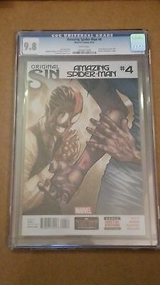 Amazing Spider-Man #4 Cgc 9.8 First Appearance Silk Marvel