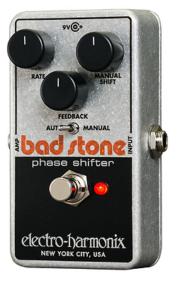 Electro Harmonix EHX Bad Stone Phase Shifter Guitar Effects Pedal