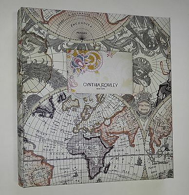 Cynthia Rowley Map Photo Album Holds 500 Pictures Brand New