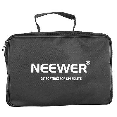 Neewer 60*60Cm Softbox Para Speedlite+260Cm Kit De Soporte De Luz