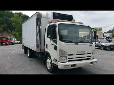 2009 Isuzu Nqr 16' Reefer Truck With Electric Standby 144K Miles