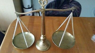 Antique Brass Scale