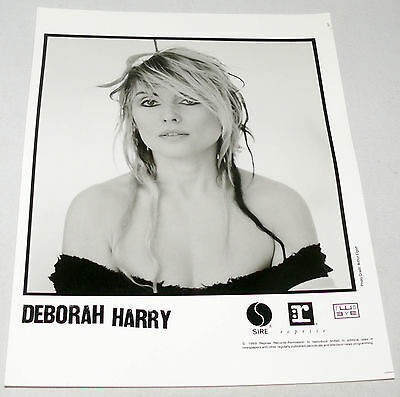 "DEBORAH HARRY (Blondie) 8x10"" Original Press Promo Photo"