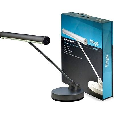 Stagg LED Piano/ Desk Lamp - Black