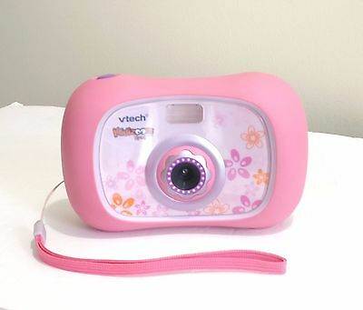 Pink Vtech Kidizoom Camera 45 MB Memory with Batteries - Free shipping