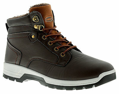 Mens/Gents Brown Lace Ups Hiking/Walking Boots. UK SIZES