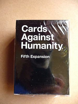 SEALED IN BOX Cards Against Humanity Fifth Expansion FAST FREE DELIVERY