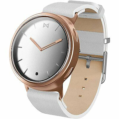 Misfit Wearables Phase Smartwatch, Pink/Gold/White
