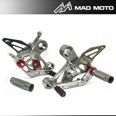 Fully Adjustable Rearset Foot Pegs For FZ-09 / MT-09 / FJ-09 2014-18  Rearsets