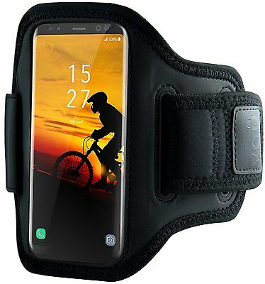 vau ActionWrap Sports Armband Pouch Case for Samsung Galaxy S8/S8 + Plus