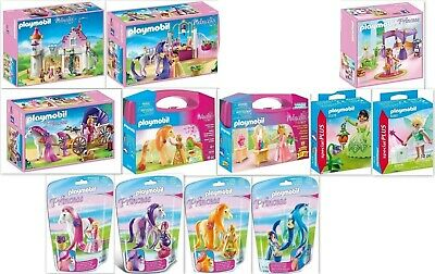 PLAYMOBIL Princess PACK Castle Residence Carriage Salon 13 ITEMS 6849 6856 6855
