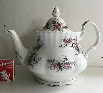 royal albert Lavender Rose Large size teapot tea pot england bone china
