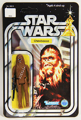 L001057 Star Wars 1977 Action Figure / Chewbacca / RECARDED 12 Back / Kenner
