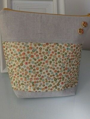 knitting, crochet, craft project bag