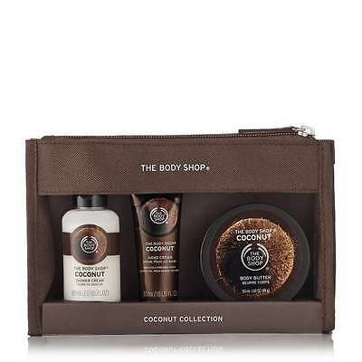 THE BODY SHOP Coconut  Beauty bag GIFT SET/BIRTHDAY/ HOLIDAYS/Ideal gift/Party.