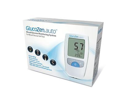 GlucoZen.auto BLOOD GLUCOSE METER SYSTEM STARTER KIT *NHS LISTED PRODUCT*