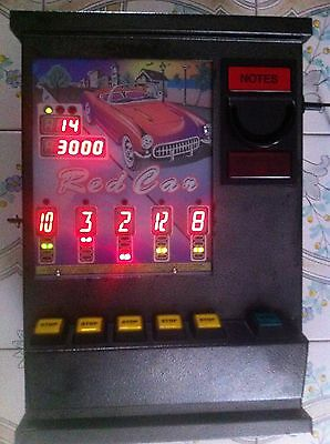 Arcade Machine.Red Car. Antique.Super Rare. In great condition.