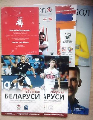 2016 / 2017 national teams programmes Q WC-2018 & Friendly UPDATED JUNE 2017