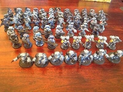 60 X Space Wolves Army, Warhammer 40k, Skyclaws, Lone Wolves, Long Fangs, Blood