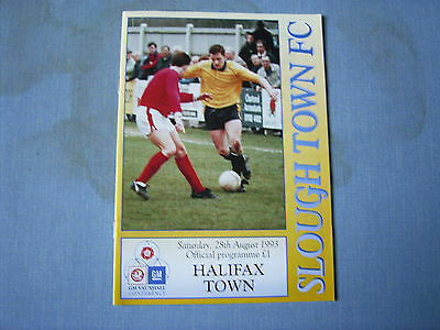 SLOUGH TOWN v HALIFAX TOWN Conference 1993-94 Halifax 1st season in Conference
