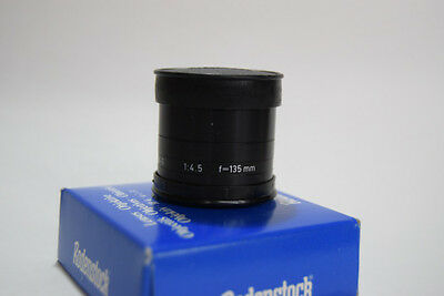 Rodenstock 135Mm F4.5 Rogonar-S Enlarging Lens Box & Caps
