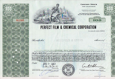 4 x PERFECT FILM & CHEMICAL CORPORATION