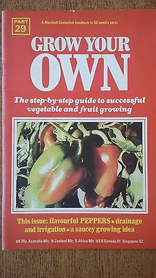 GARDENING Grow Your Own PEPPERS Seeds Marshall Cavendish Handbook Part 29