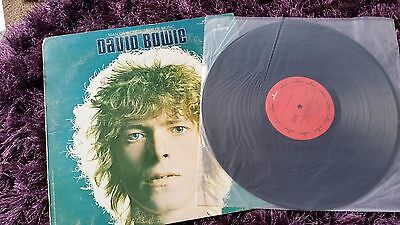 Mega Rare 1969 David Bowie Man of Words Music Mercury  SR61246 space oddity
