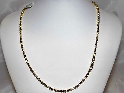 COLLANA oro 18 KT CHIMENTO COLLIER or Halskette Gold NECKLACE VINTAGE
