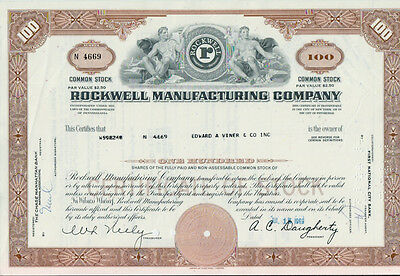 7 x ROCKWELL MANUFACTURING COMPANY