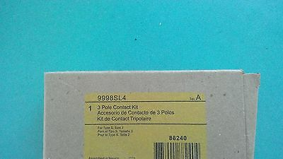 Square D Size 2 Contacts 9998Sl4 Brand New Factory Sealed