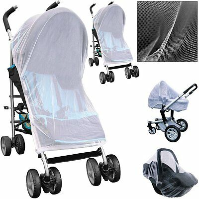 Pushchair Pram Mosquito Fly Insect Net Mesh Buggy Cover for Baby Infant Stroller