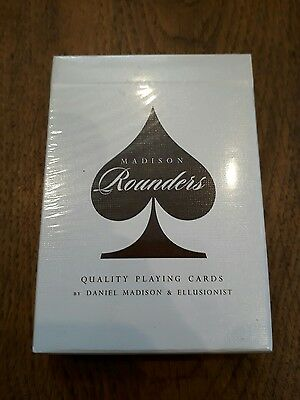 Daniel Madison Rounders Brown Playing Cards Ellusionist  Magic Tricks New Deck