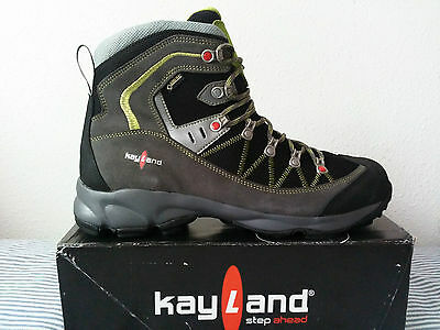 Kayland Plume GTX Size 47 Men Trekking Hiking Outdoor Boots Shoes Vibram Outsole