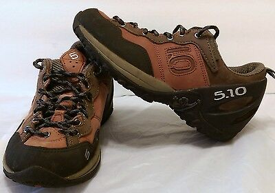 Five Ten Camp 4 Stealth Rock Climbing Shoes Size 6.5 5.10 Rugged Hiking Climb