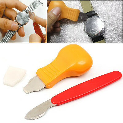 Watch Opener Knife Press Back Cover Case Remover Battery Change Repair Tool Kits