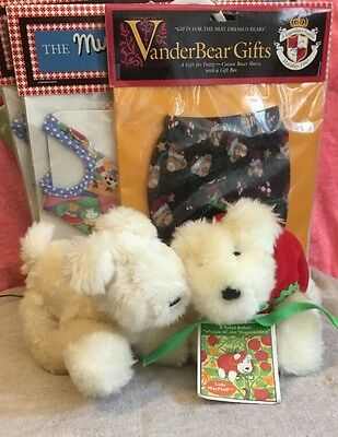 Vanderbear Lot - 2 Bears And 9 Outfits