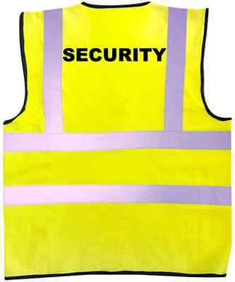 SECURITY High Visibility Vest Stage Lighting Theatre Stage DJ
