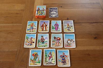 Vintage Pepys Game Cards  Happy Families Of The World Instructions Vgc