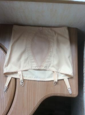 DAMART vintage style pull on girdle with suspender NEW