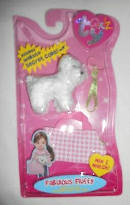 Ty Girlz Dog Fabulous Fluffy New In Package