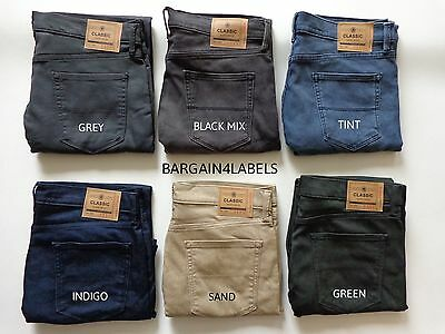 Mens Ex M&S Collection Marks and Spencer SLIM FIT Stretch Jeans 1339