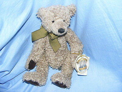 Russ Berrie Teddy Bear Macintosh 24003  Collectable RARE