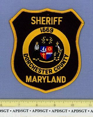 DORCHESTER COUNTY SHERIFF MARYLAND MD Police Patch BLUE CRAB
