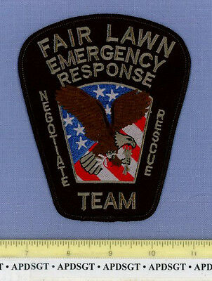 FAIRLAWN ~ SWAT (Subdued) ~ NEW JERSEY Sheriff Police Patch HOSTAGE NEGOTIATION
