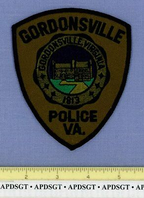 GORDONSVILLE ~ SWAT ~ VIRGINIA VA Police Patch COUNTY COURTHOUSE