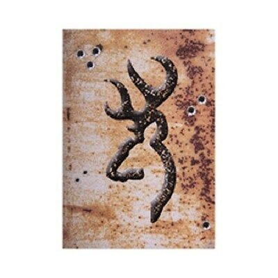 Browning Rustic Wall Tin Sign - Parking, Hunting, Cabin, Garage Decor