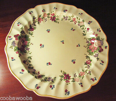 """Pre 1936 Royal Doulton Wildflower D5273 15"""" Charger Plate Platter England"""