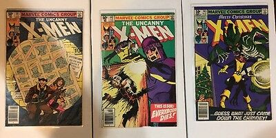 UNCANNY X-MEN Lot of 3 Books 141, 142 & 143 - Days Of Future Past -Free Shipping